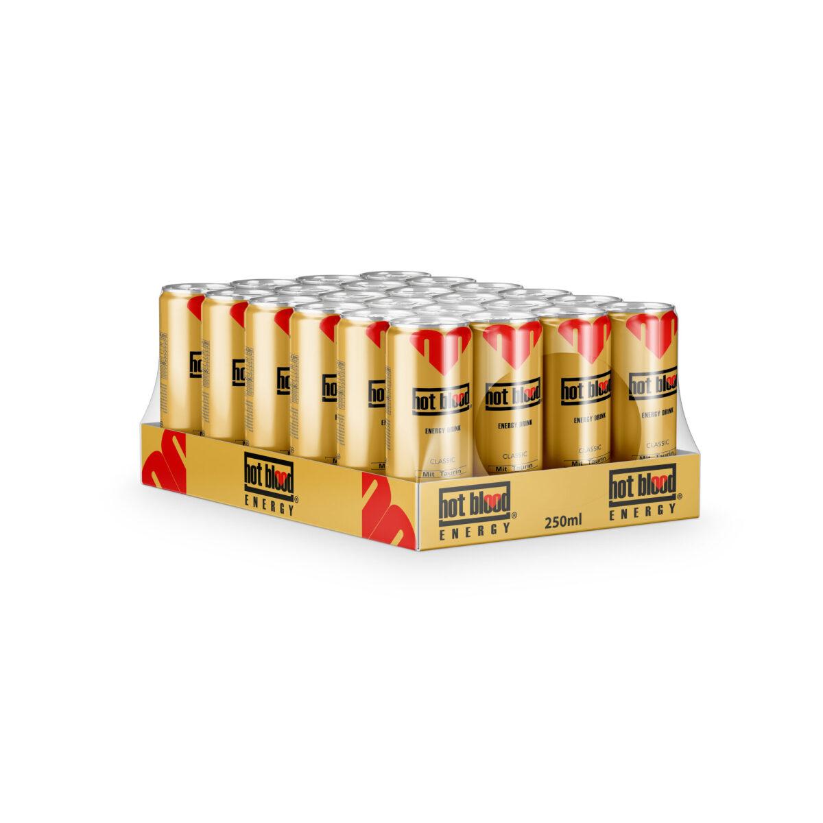 24 x Hot Blood Ice Tea Pfirsich 330ml